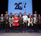 Osés y Fernández culminan su año olímpico como mejores deportistas navarros