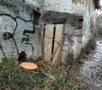 La vivienda en ruinas de la cuesta de Curtidores vuelve a estar habitada