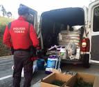 Arrestado un vecino de Burlada por vender droga en un portal