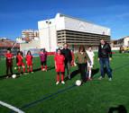 Inaugurado el nuevocampo de fútbol de Larrabide