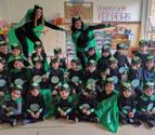 Color, imaginación y fiesta con el Carnaval en los colegios y en la calle