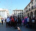 El colorido del Carnaval desfila en Tudela