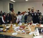 1997: Disfraces y almuerzo de carnaval en el instituto Alaitz