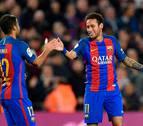 El Barça golea con un Neymar entonado