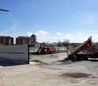 Comienza la construcción de la nueva gasolinera de la avenida de Zaragoza