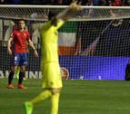Osasuna, el más goleado desde 1982