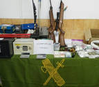 La Guardia Civil interviene 100 gramos de speed y 600 de marihuana en Carcastillo