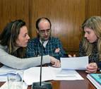 El tripartito de Estella apoya la ikurriña en las  instituciones navarras