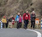 Cerca de 150 peregrinos de Tierra Estella inician la marcha a Javier