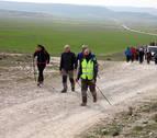 La Ribera cruza Bardenas de camino a Javier