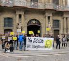 Reclaman en Pamplona que se cumplan los compromisos de acogida de refugiados