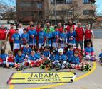 El hockey va 'sobre ruedas' en Tudela