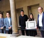 María Carvajal, premio al mejor expediente de la UNED de Tudela