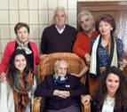 Fallece a los 109 años la 'abuela de Navarra', Dolores Zabalegui