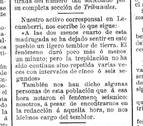 10 de marzo de 1903: Navarra tembló con su seísmo más intenso hace 114 años