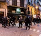 Los autores de los disturbios, un movimiento radical, crítico con la estrategia de Sortu