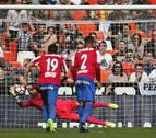 El Valencia rescata un punto al final del partido