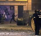 La Audiencia de Navarra no ve terrorismo en los disturbios del 11 de marzo en Pamplona