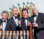 Les Luthiers presentan su espectáculo '¡Chist! Antología' en Baluarte