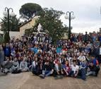 Cascante recibe a 180 jóvenes de distintos puntos de España