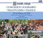 'Trasteando Tardea' ofrecerá un concierto solidario a beneficio de Madre Coraje