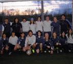 2007: Las chicas del equipo de fútbol de categoría Regional