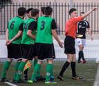 Un jugador del Beti Onak agredió al linier en Baztan