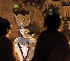 Más de 100.000 personas pintan Valencia de colores en la Ofrenda