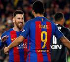 Messi y Neymar mantienen vivo al Barça en la Liga