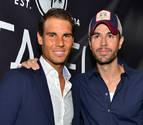 Enrique Iglesias y Rafa Nadal inauguran un restaurante en Miami