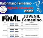 Cita importante para las juveniles del Balonmano Lagunak con la disputa de la Final a 4
