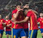Merino abre el camino del triunfo a España sub-21