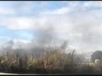 Un herido leve en Corella en un incendio en una fábrica de compostaje