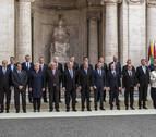 Los líderes de la UE reafirman en Roma la voluntad de seguir avanzando en la unión