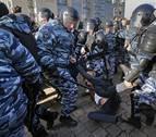 Rusia eleva a más de 1.000 los detenidos por la manifestación opositora