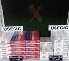 Arrestado por transportar 3.000 cajetillas de tabaco de contrabando