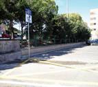 Tudela estrena un área de autocaravanas en la avenida Argentina