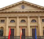Comienzan las obras contra incendios en el Palacio de Navarra