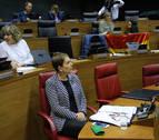 """Barkos asume el """"vacío legal"""" tras derogar la ley de Símbolos"""