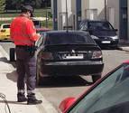 Denunciado en Murillo por conducir sin seguro ni ITV y dar positivo en drogas
