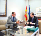 Rajoy y Esparza firman hoy el acuerdo para sacar a concurso este año obras del TAV