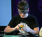 Pamplona acoge un campeonato internacional sobre el cubo de Rubik