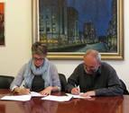 Ayuntamiento y Fundación Sahats renuevan el convenio de colaboración Bai Euskarari