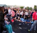 Así fueron los atracones de alcohol en la Carpa universitaria