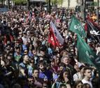 Tres detenidos en Berriozar por portar fotos de presos de ETA en la Korrika