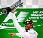 Hamilton se lleva su quinto Gran Premio de China por delante de Vettel