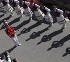 Las mujeres se sumarán a bailar varios 'jauziak' en Valcarlos el Día de Bolantes