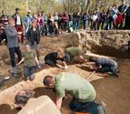 Localizados en la fosa de Burutain los restos de 7 fugados de San Cristóbal