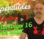 Agenda cultural de Navarra en vídeo hasta el domingo 16 de abril