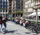 Jueves Santo con temperaturas veraniegas en casi toda Navarra